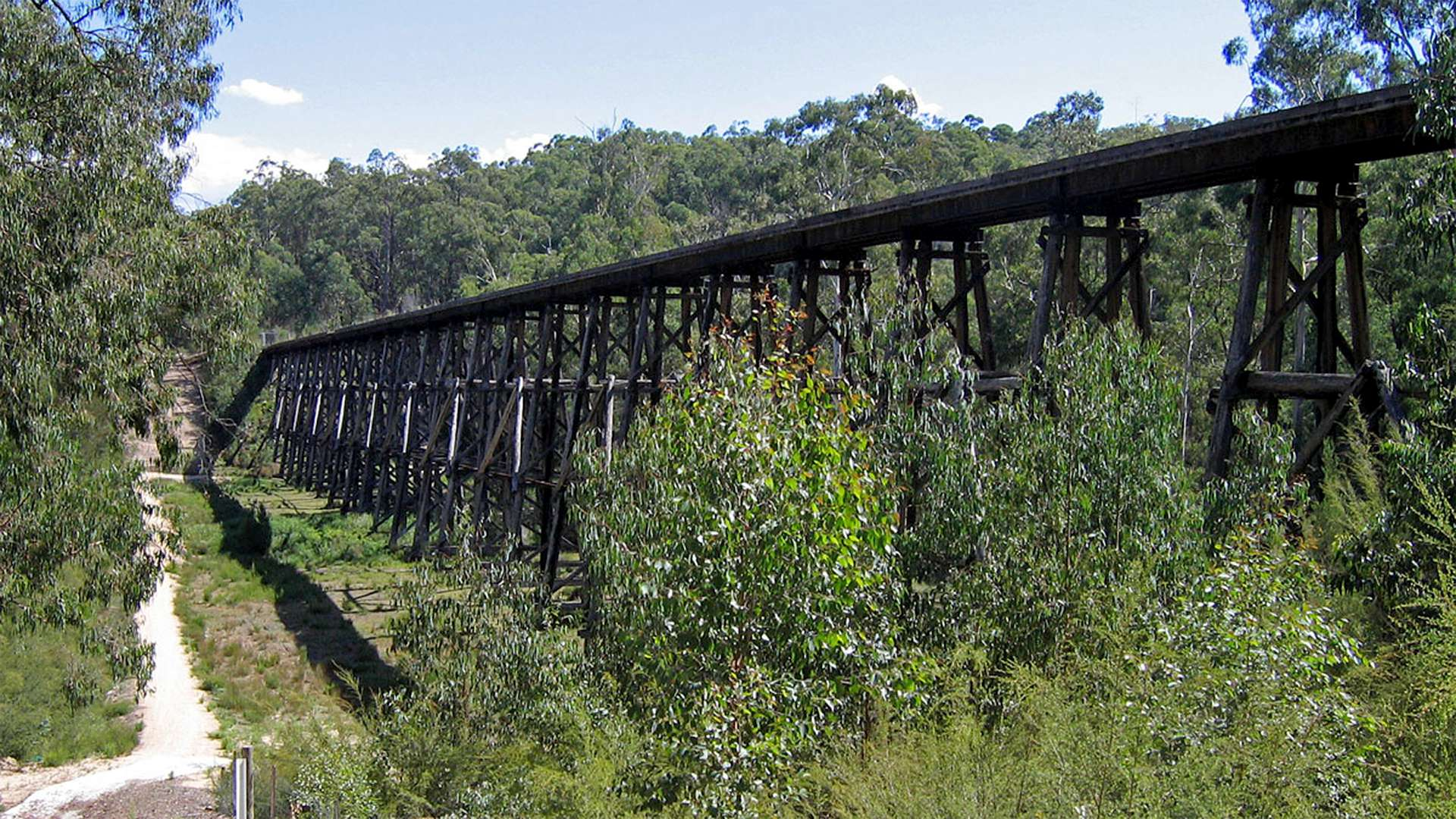 Colquhoun Forest Drive to Stony Creek Trestle Bridge