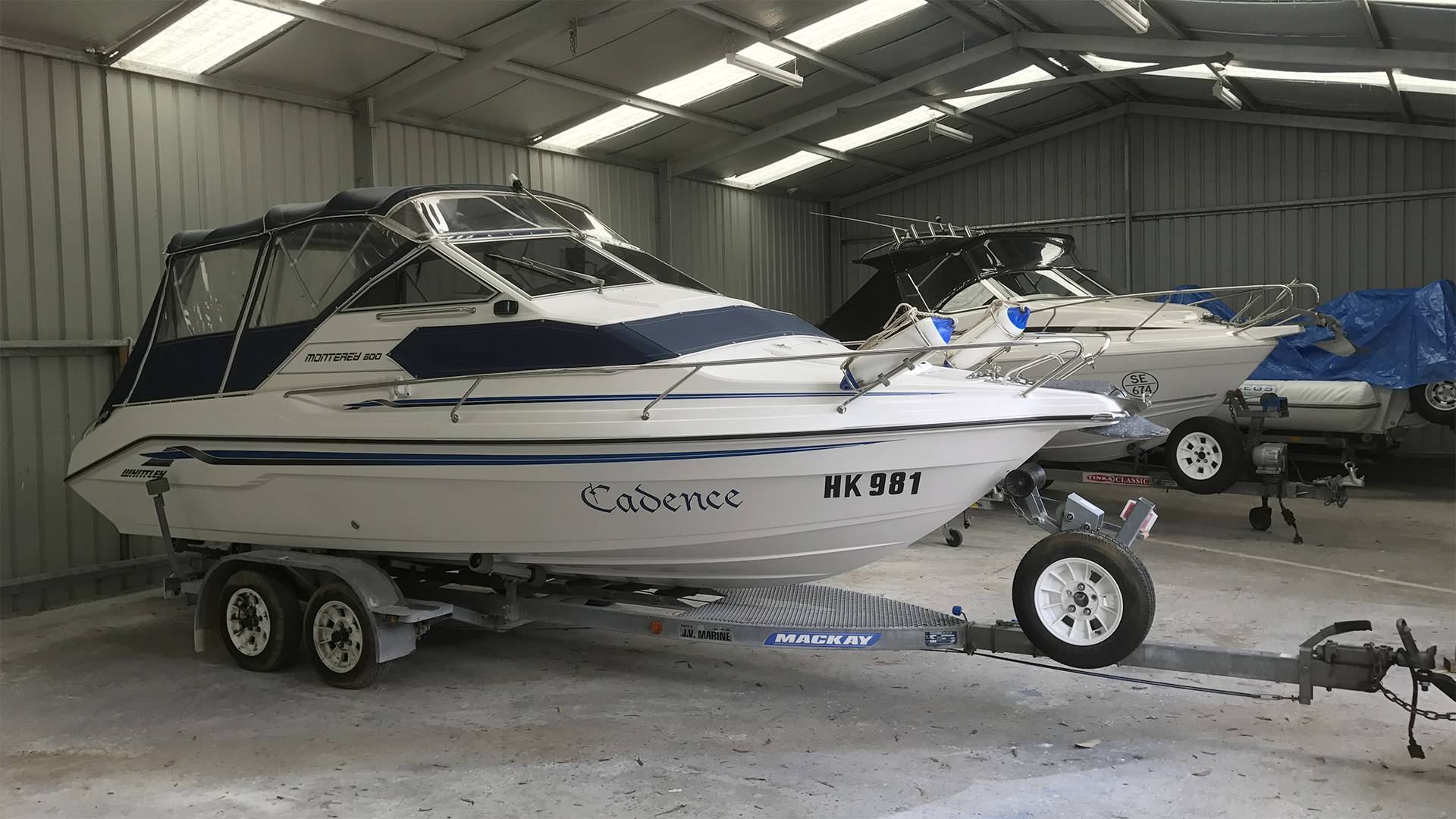 Keep our boat protected from harsh weather and bird damage